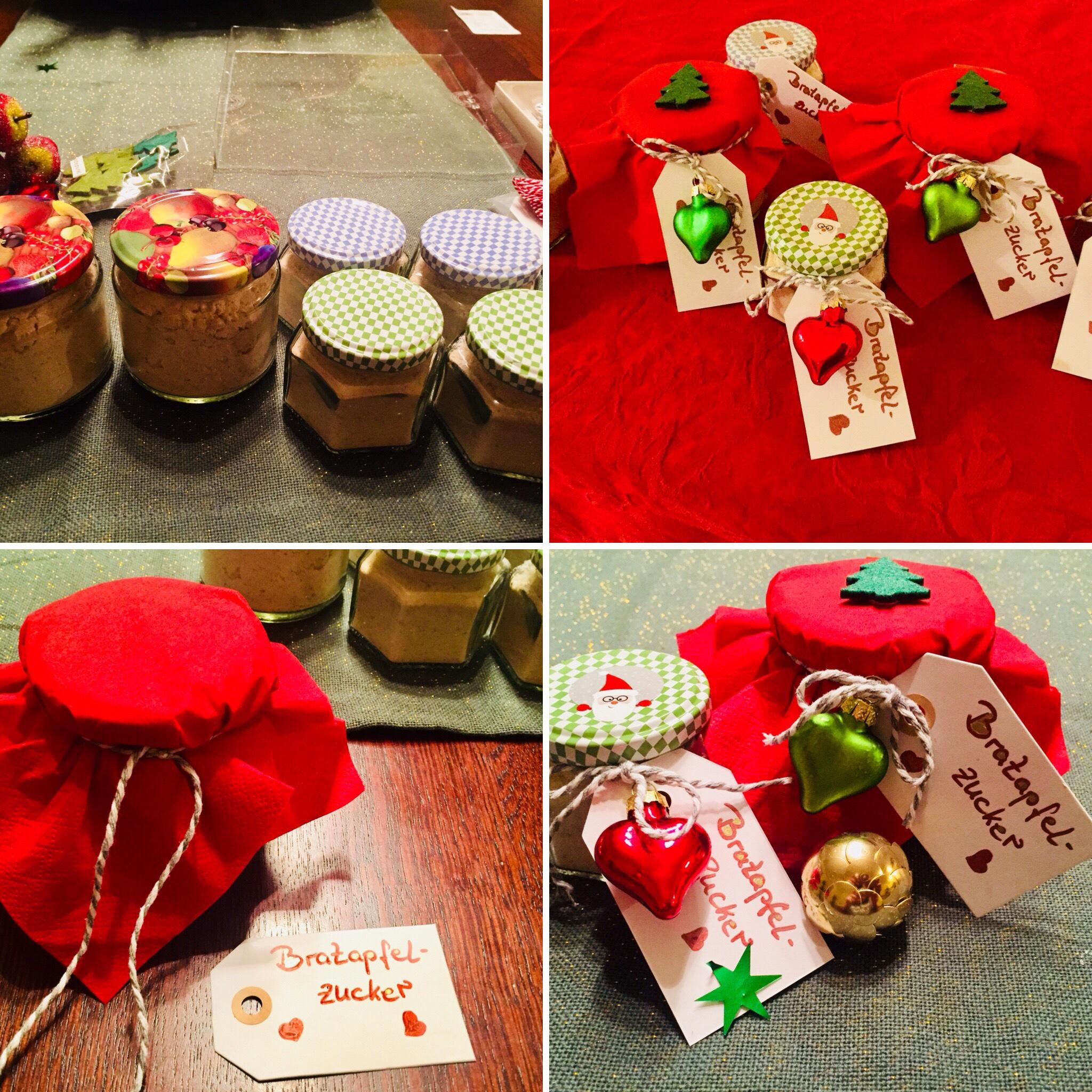 Geschenke aus der Küche zur Weihnachtszeit – Bratapfelzucker ...